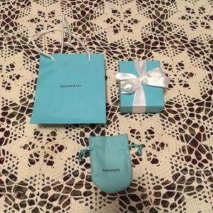 Tiffany & Co. Bag Box and Jewelry Bag
